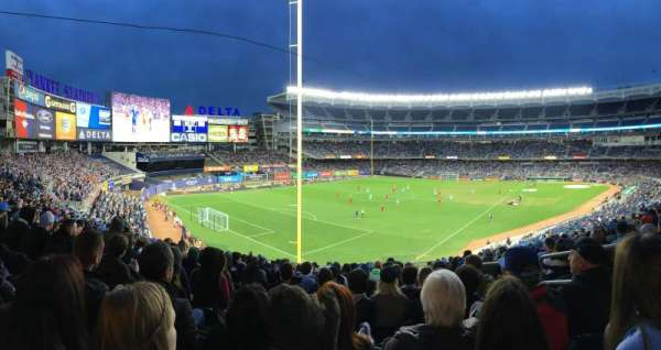 Yankee Stadium, section: 232a, row: 14, seat: 3