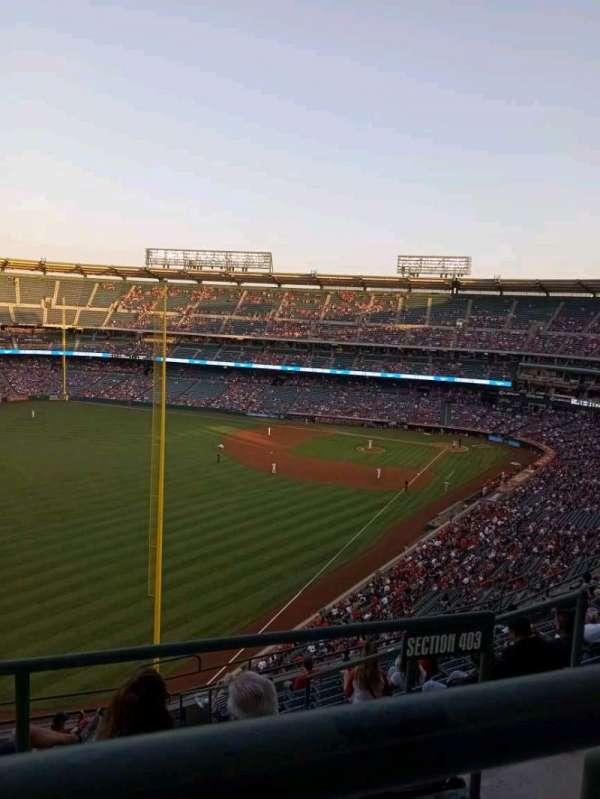 Angel Stadium, section: 504, row: A, seat: 10