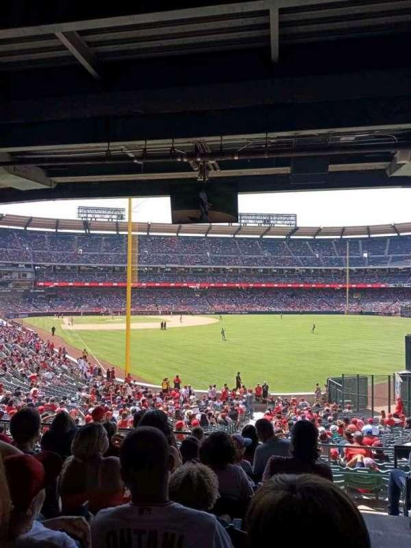 Angel Stadium, section: 232, row: H, seat: 19