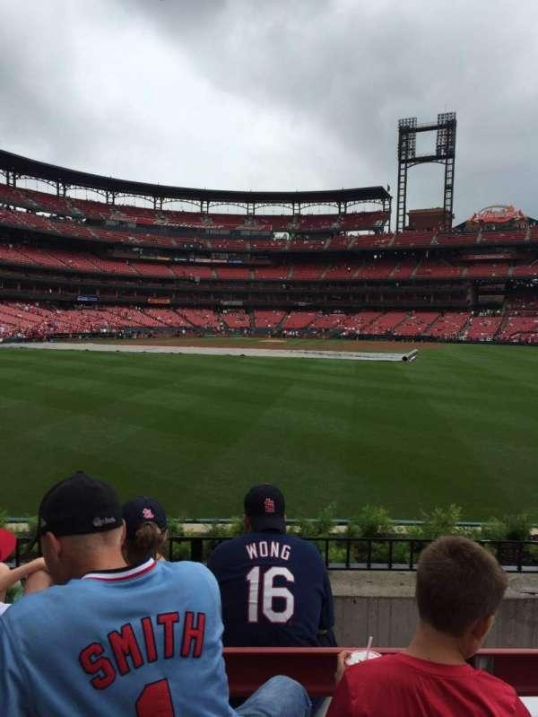 Busch Stadium, section: 501, row: 4, seat: 9