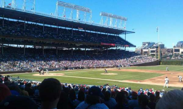 Wrigley Field, section: 126, row: 14, seat: 8