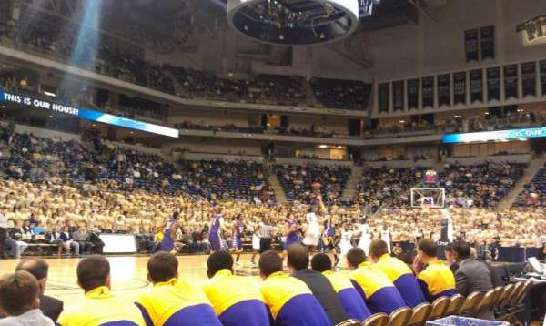 Petersen Events Center, section: 24, row: A, seat: 2