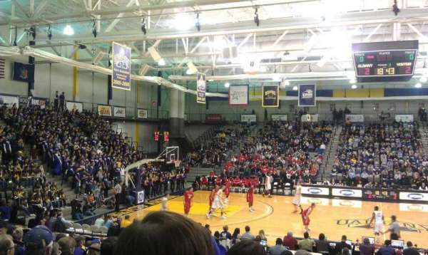 SEFCU Arena, section: 200, row: S, seat: 10