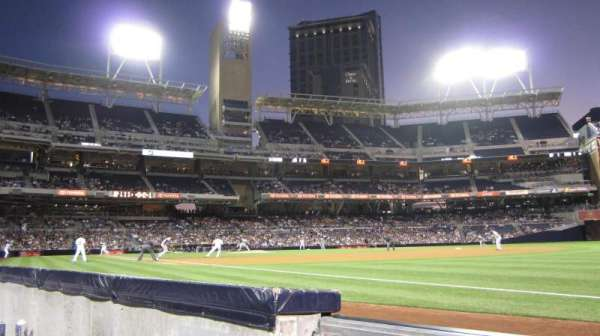 PETCO Park, section: 117, row: 1, seat: 2