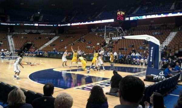 Mohegan Sun Arena, section: 22, row: F, seat: 6
