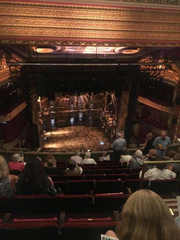 CIBC Theatre, section: Balcony LC, row: K, seat: 413