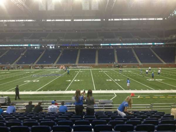 Ford Field, section: 107, row: 12, seat: 12