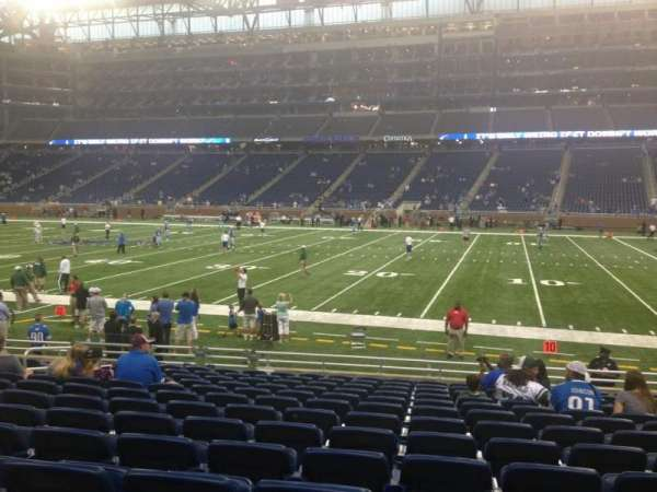 Ford Field, section: 129, row: 13, seat: 11