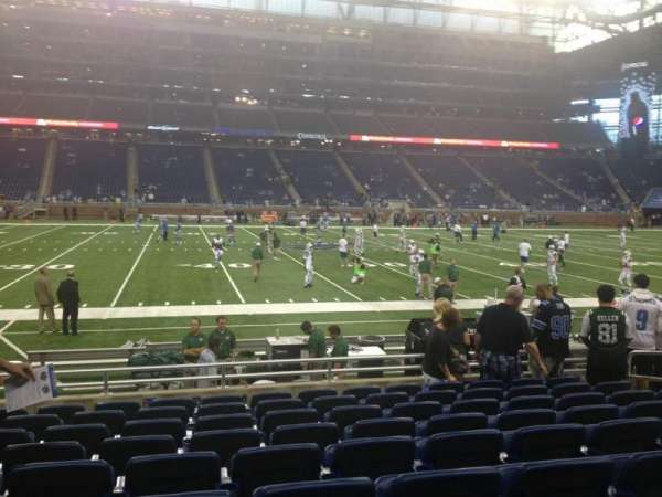 Ford Field, section: 126, row: 9, seat: 11