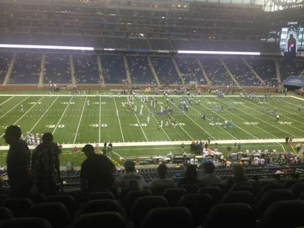 Ford Field, section: 229, row: 7, seat: 11