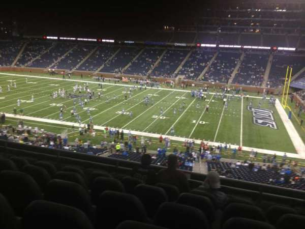 Ford Field, section: 235, row: 6, seat: 12