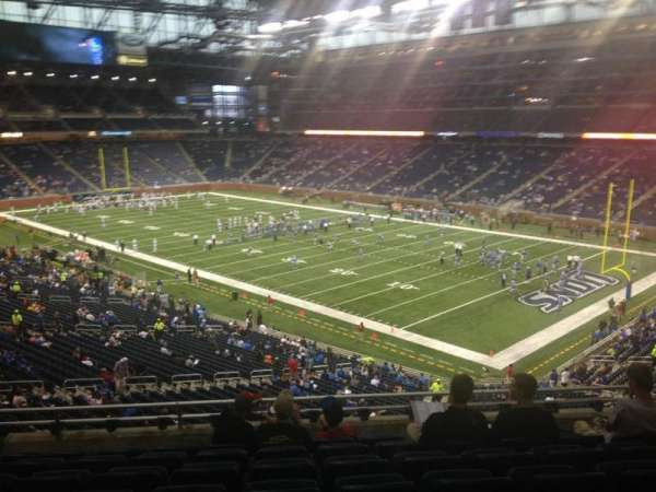 Ford Field, section: 237, row: 8, seat: 18