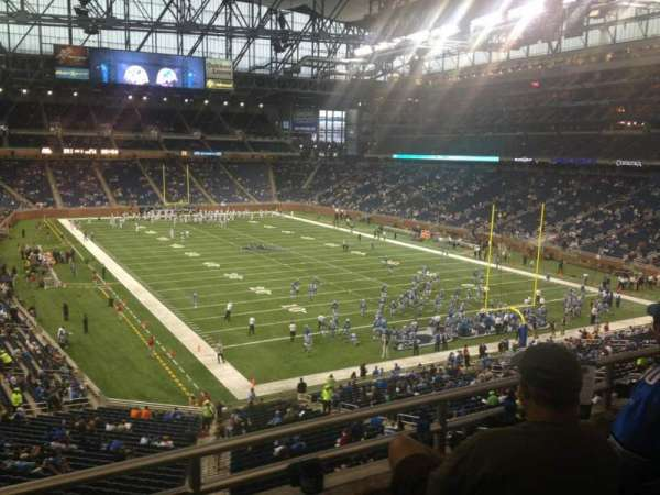 Ford Field, section: 240, row: 3, seat: 3