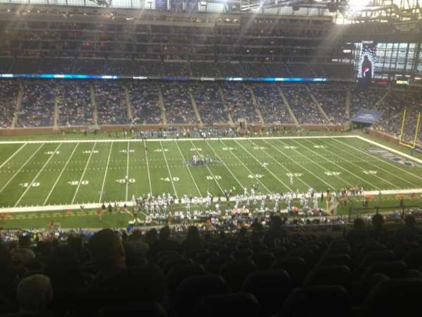 Ford Field, section: 330, row: 7, seat: 10