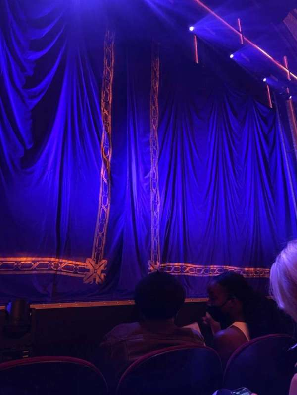 Brooks Atkinson Theatre, section: Orchestra, row: B, seat: 101