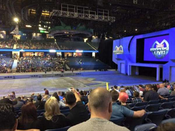 Allstate Arena, section: 111, row: N, seat: 24