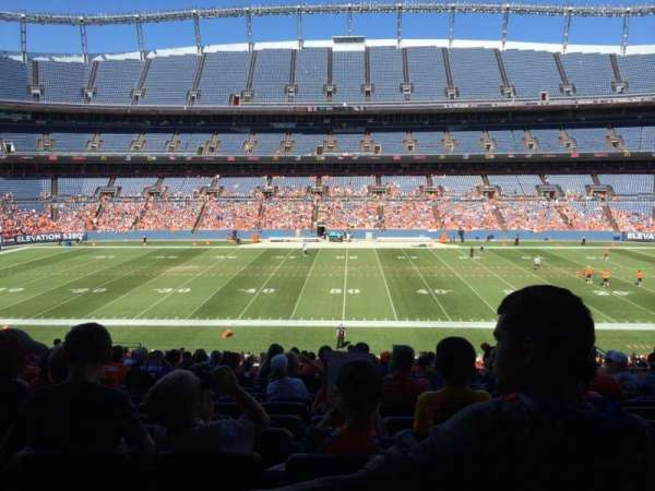 Empower Field at Mile High Stadium, section: 123, row: 40, seat: 13