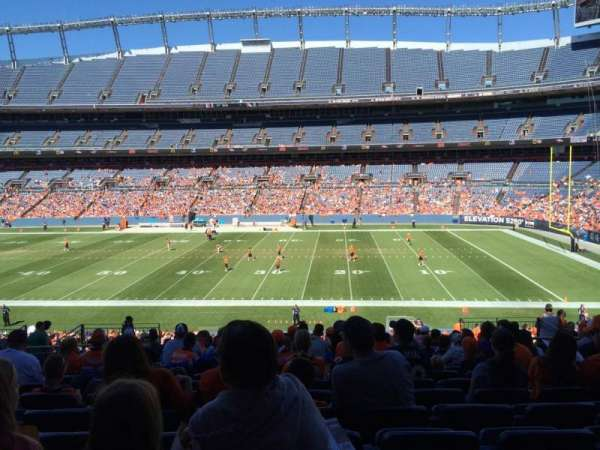 Broncos Stadium at Mile High, section: 121, row: 38, seat: 13