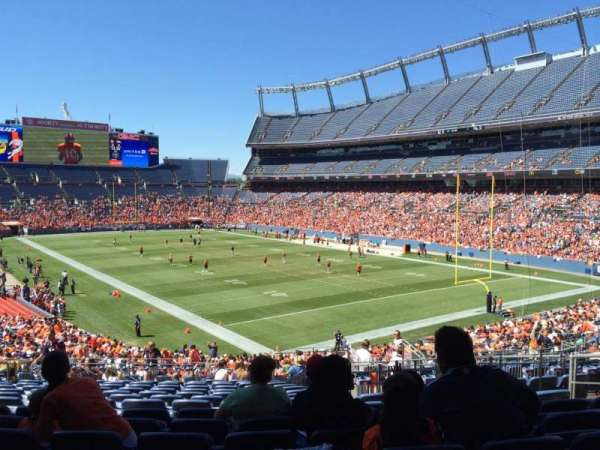 Broncos Stadium at Mile High, section: 117, row: 39, seat: 28