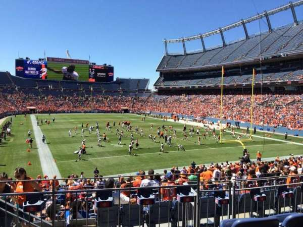 Broncos Stadium at Mile High, section: 116, row: 28, seat: 13