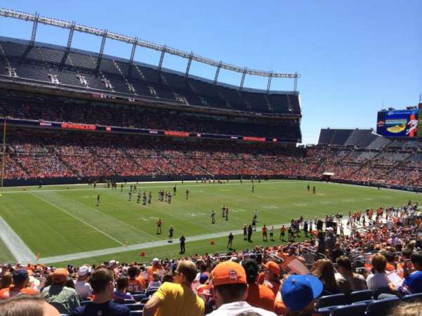 Broncos Stadium at Mile High, section: 110, row: 36, seat: 13