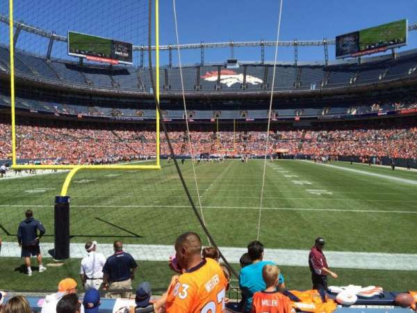 Broncos Stadium at Mile High, section: 131, row: 5, seat: 7