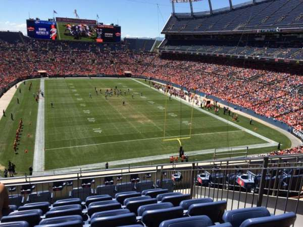 Broncos Stadium at Mile High, section: 325, row: 9, seat: 7