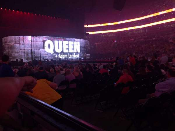 TD Garden, section: Loge 12, row: 1, seat: 5
