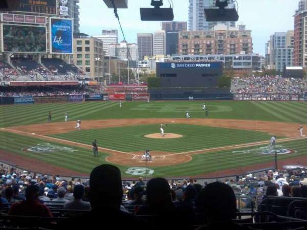 PETCO Park, section: G, row: 17, seat: 9