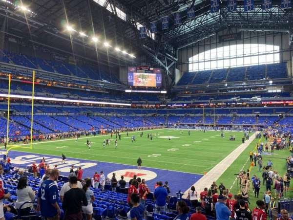 Lucas Oil Stadium, section: 151, row: 19, seat: 7
