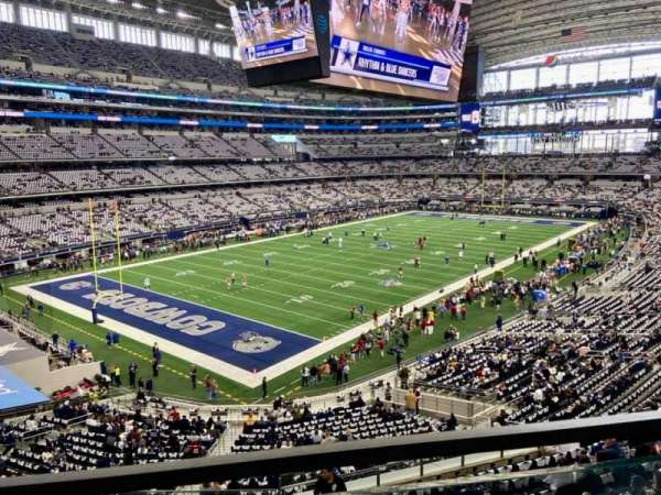 AT&T Stadium, section: 343, row: 1, seat: 13