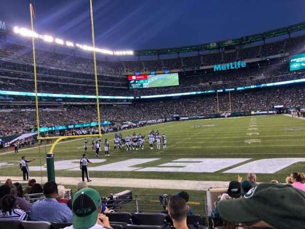 MetLife Stadium, section: 149, row: 8, seat: 11