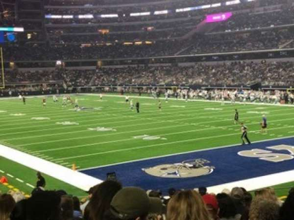 AT&T Stadium, section: 126, row: 16, seat: 13