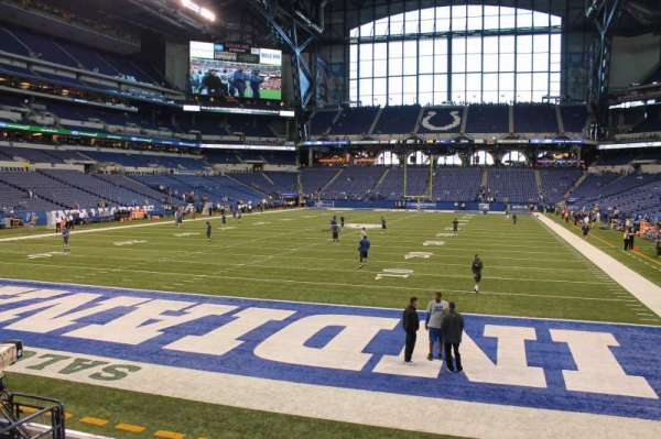 Lucas Oil Stadium, section: 125, row: 10, seat: 10