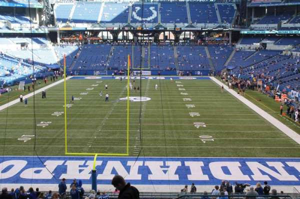 Lucas Oil Stadium, section: 227, row: 12, seat: 3