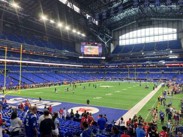 Lucas Oil Stadium, section: 151, row: 19, seat: 5