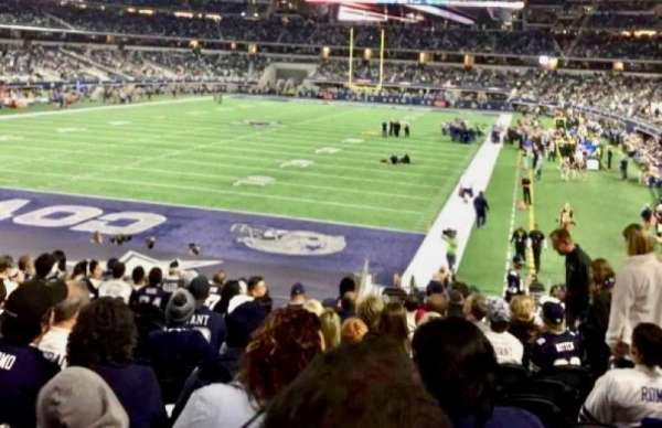 AT&T Stadium, section: 121, row: 21, seat: 16