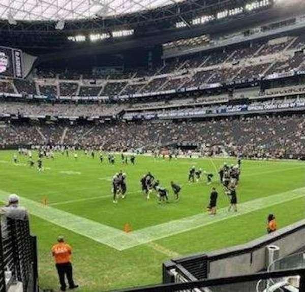 Allegiant Stadium, section: 104, row: 11, seat: 11
