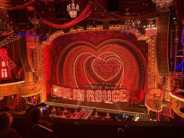 Al Hirschfeld Theatre, section: Mezzanine R, row: D, seat: 2