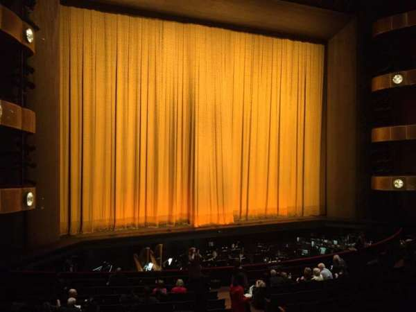 David H. Koch Theater, section: 1st Ring, row: A, seat: 25