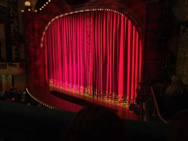 Shubert Theater, section: MEZZ, row: B, seat: 6