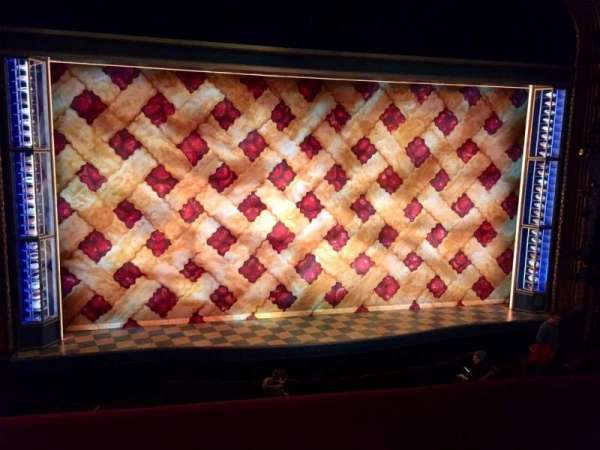 Brooks Atkinson Theatre, section: Front Mezzanine C, row: A, seat: 101