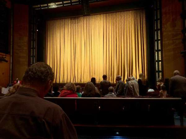 The Kennedy Center Eisenhower Theater, section: ORCH, row: Q, seat: 103
