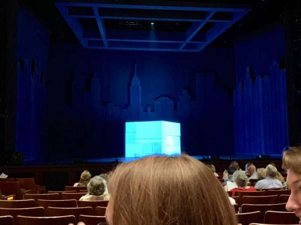 The Kennedy Center Eisenhower Theater, section: ORCH, row: N, seat: 115