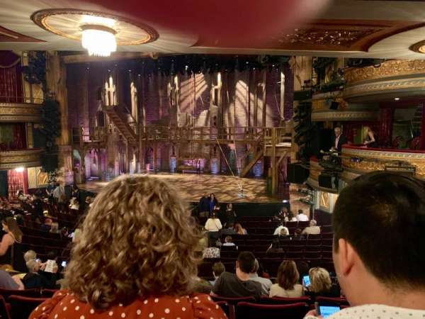 Richard Rodgers Theatre, section: Orchestra C, row: R, seat: 16