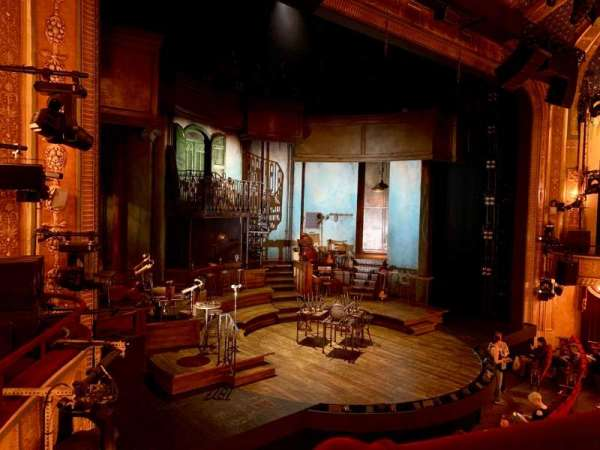 Walter Kerr Theatre, section: Mezzanine L, row: A, seat: 17