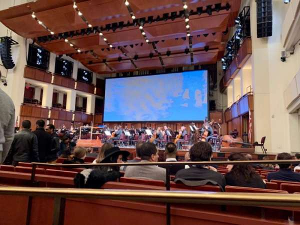 The Kennedy Center Concert Hall, section: ORCH, row: M, seat: 16