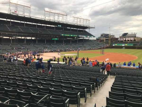 Wrigley Field, section: 124, row: 8, seat: 6