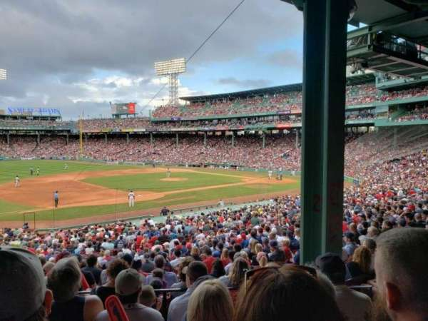 Fenway Park, section: Grandstand 29, row: 5, seat: 4