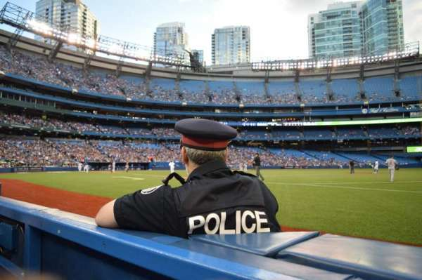Rogers Centre, section: 115R, row: 1